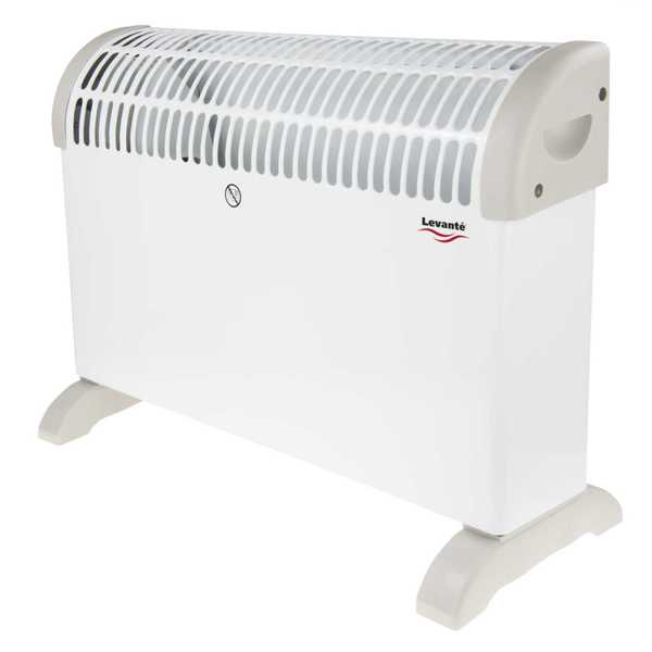 2kW Compact Convector Heater with Timer