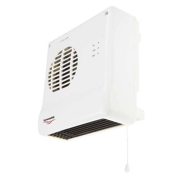 2kW Downflow Bathroom Fan Heater